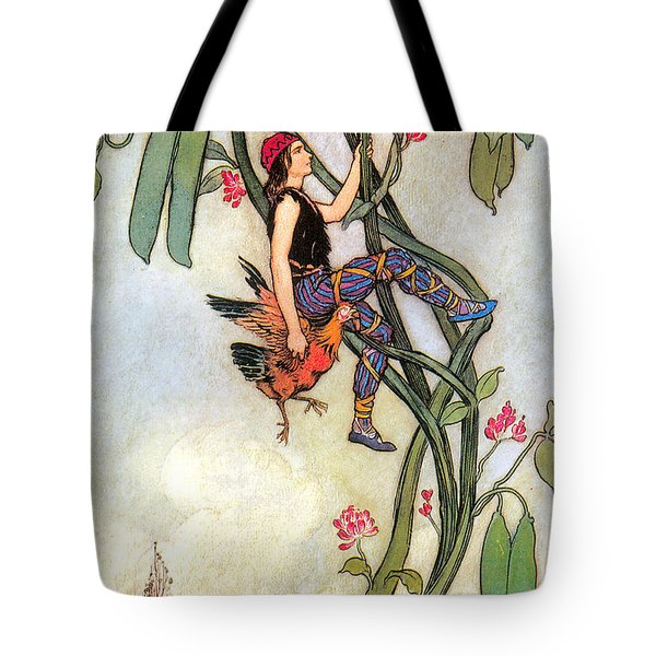 The Fairy Book Tote Bag by Warwick Goble