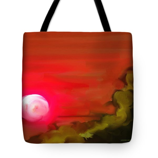 The Fire Next Time Tote Bag by Lenore Senior