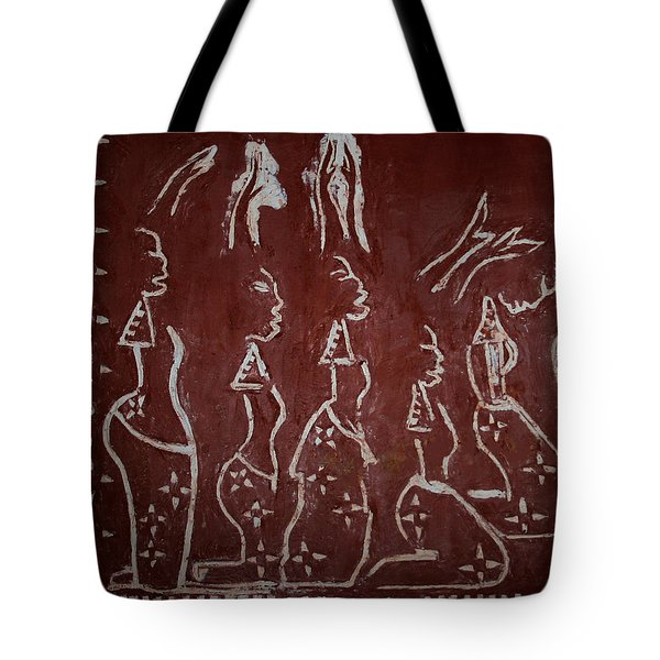 The Five Wise Virgins Tote Bag by Gloria Ssali