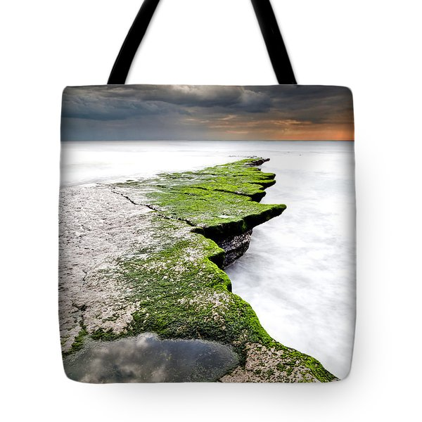 The Green Path Tote Bag by Jorge Maia