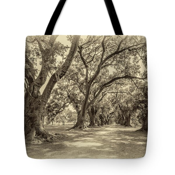 The Lane Sepia Tote Bag by Steve Harrington