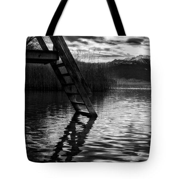 The Old Swimming Hole Tote Bag by Mountain Dreams