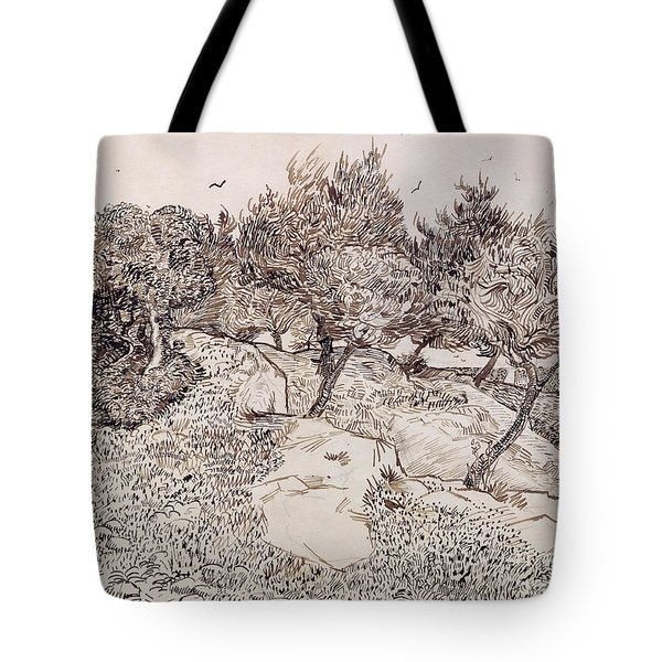 The Olive Trees Tote Bag by Vincent Van Gogh