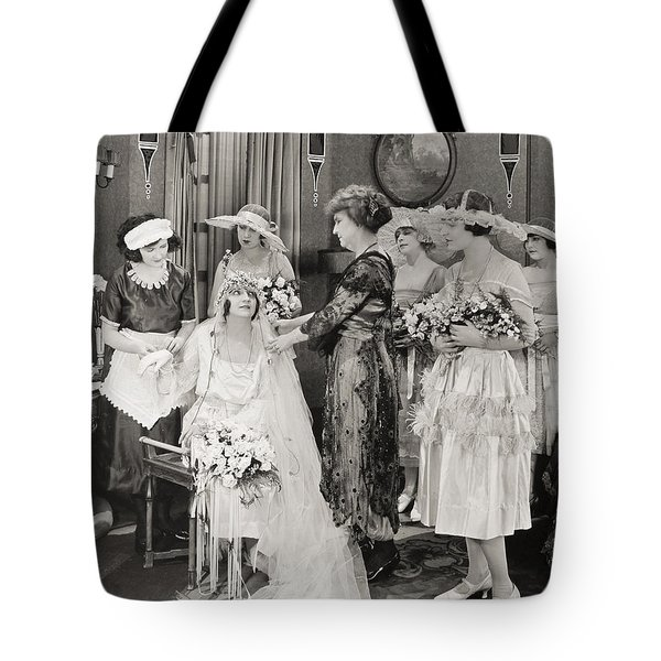 The Power Within, 1921 Tote Bag by Granger