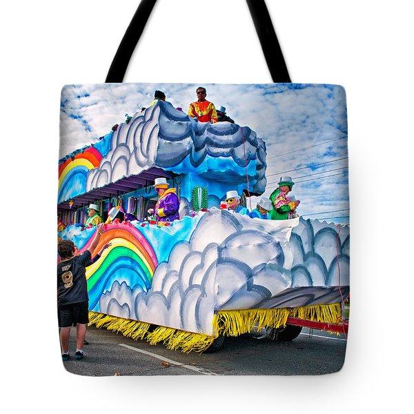 The Spirit Of Mardi Gras Tote Bag by Steve Harrington