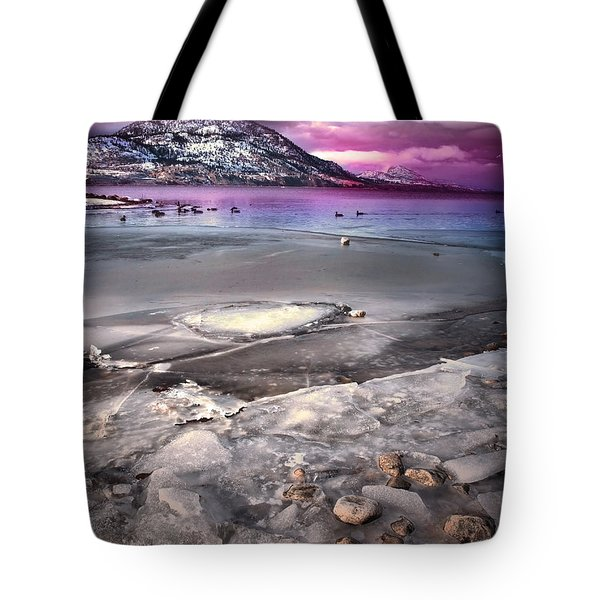 The Thaw Tote Bag by Tara Turner