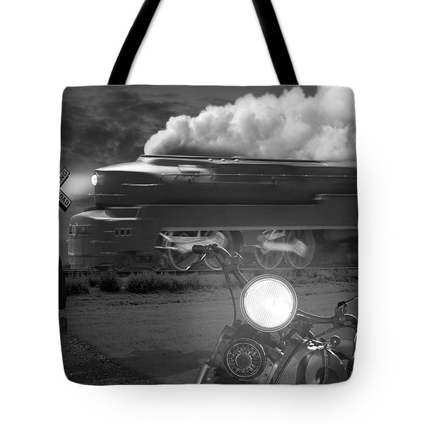 The Wait Tote Bag by Mike McGlothlen