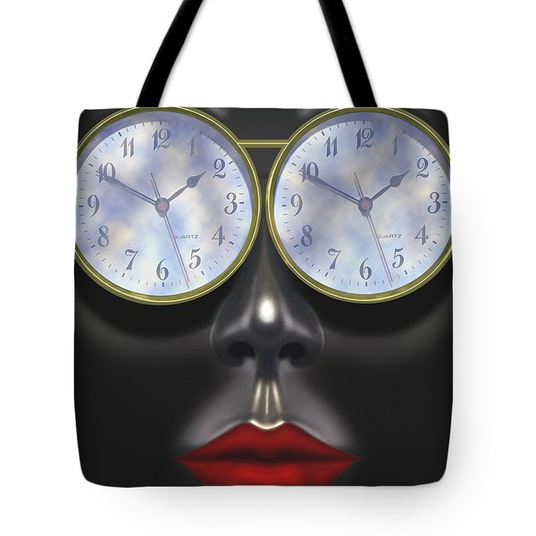 Time In Your Eyes Tote Bag by Mike McGlothlen