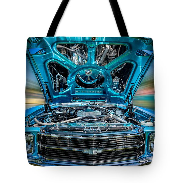 Time Warp Tote Bag by Bill Wakeley