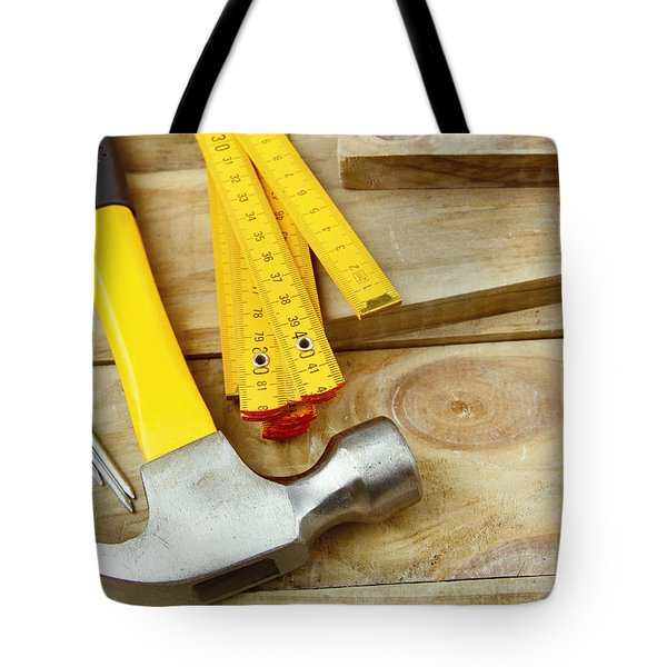 Tools Tote Bag by Les Cunliffe