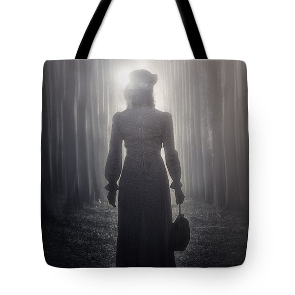 towards the light Tote Bag by Joana Kruse