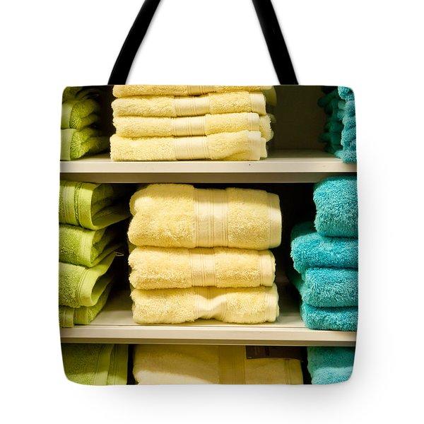 Towels Tote Bag by Tom Gowanlock