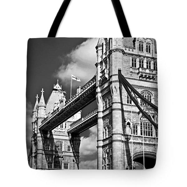 Tower bridge in London Tote Bag by Elena Elisseeva