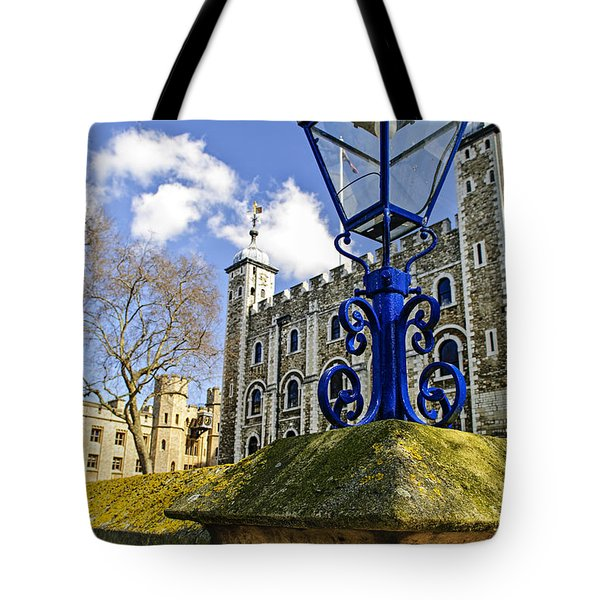 Tower of London Tote Bag by Elena Elisseeva