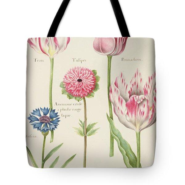 Tulips Tote Bag by Nicolas Robert