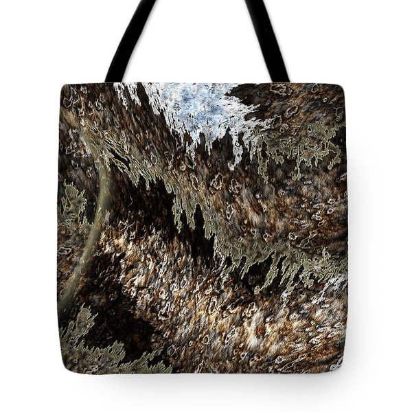 Tumult Tote Bag by Christopher Gaston