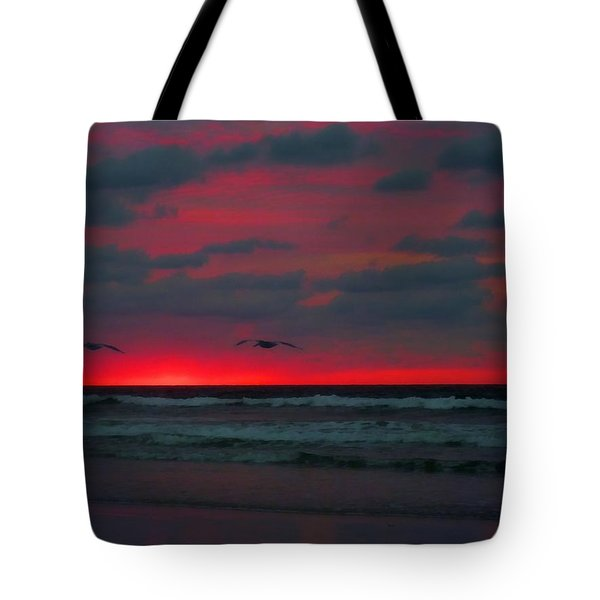 Two Ship Tote Bag by JC Findley