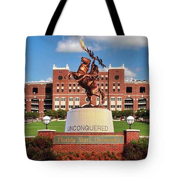 Unconquered Tote Bag by John Douglas