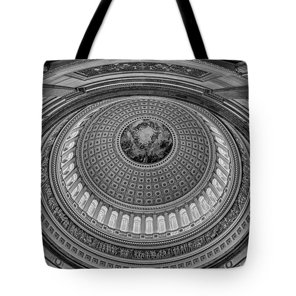 Us Capitol Rotunda Tote Bag by Susan Candelario