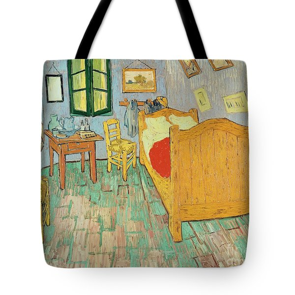 Van Goghs Bedroom At Arles Tote Bag by Vincent Van Gogh