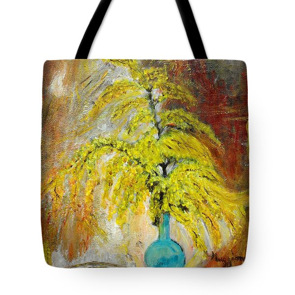 Vase Of Spring Tote Bag by Mauro Beniamino Muggianu