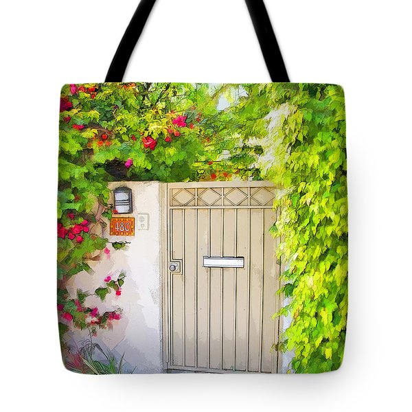 Venice Gate Tote Bag by Chuck Staley