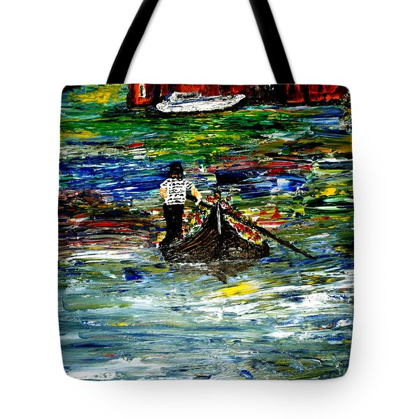 Venice Spring Tote Bag by Mark Moore