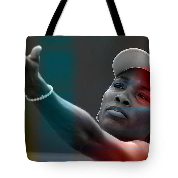 Venus Williams Tote Bag by Marvin Blaine