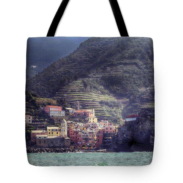 Vernazza Tote Bag by Joana Kruse