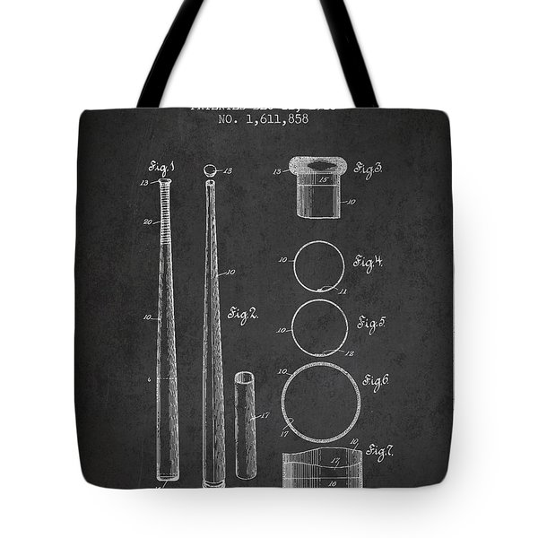 Vintage Baseball Bat Patent From 1926 Tote Bag by Aged Pixel