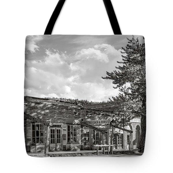 Virginia City Montana Ghost Town Tote Bag by Daniel Hagerman