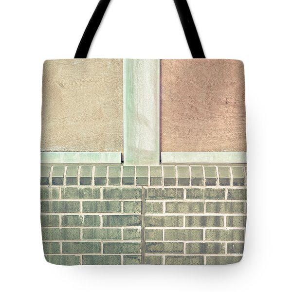Wall Background Tote Bag by Tom Gowanlock