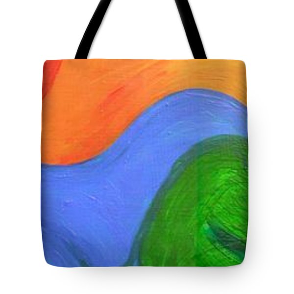 Wavelength Tote Bag by Genevieve Esson