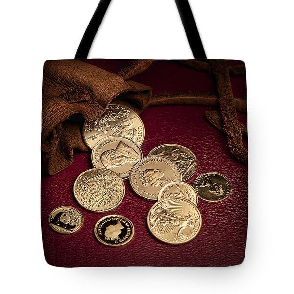 Wealth Tote Bag by Tom Mc Nemar