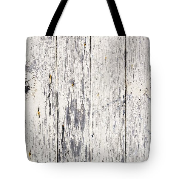 Weathered Paint on Wood Tote Bag by Tim Hester