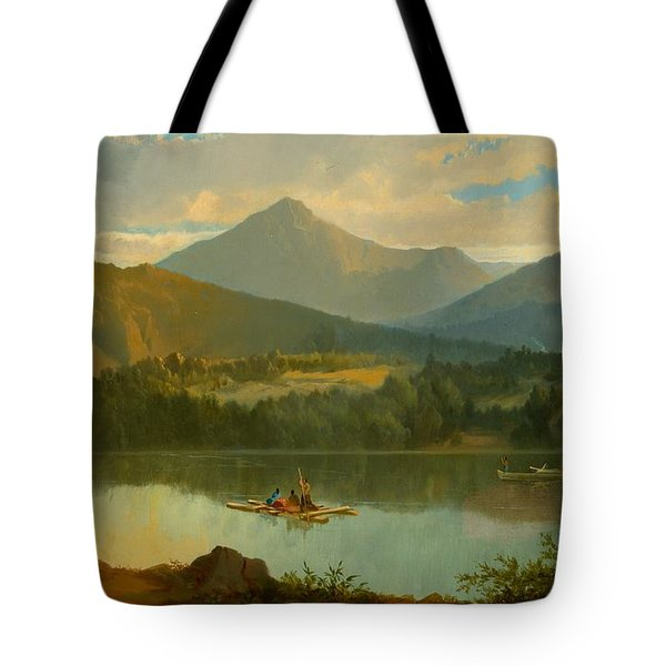 Western Landscape Tote Bag by John Mix Stanley