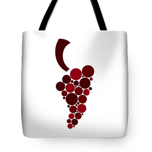 Wine Grape Tote Bag by Frank Tschakert