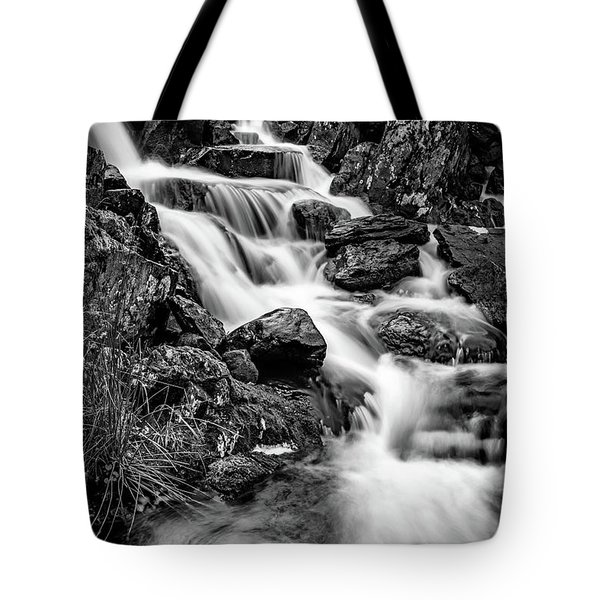 Winter Rapids Tote Bag by Adrian Evans