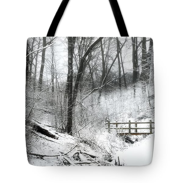 Winter Wonderland  Tote Bag by Scott Norris