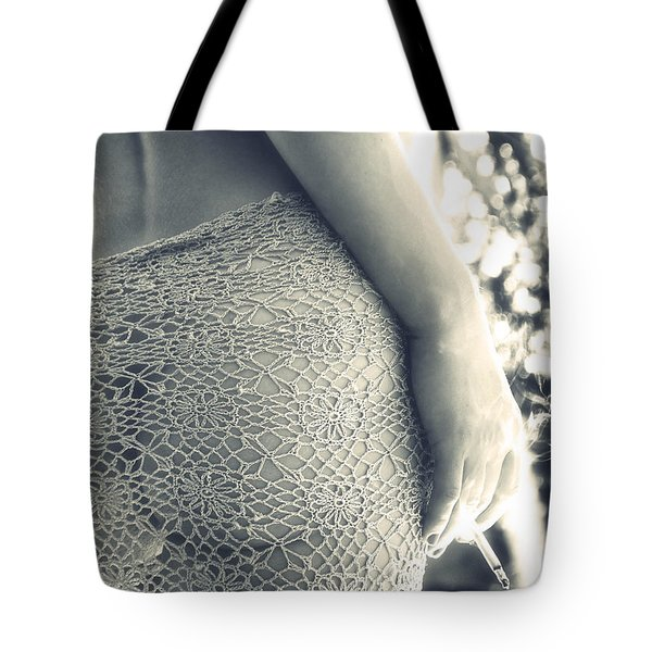 woman Tote Bag by Stylianos Kleanthous