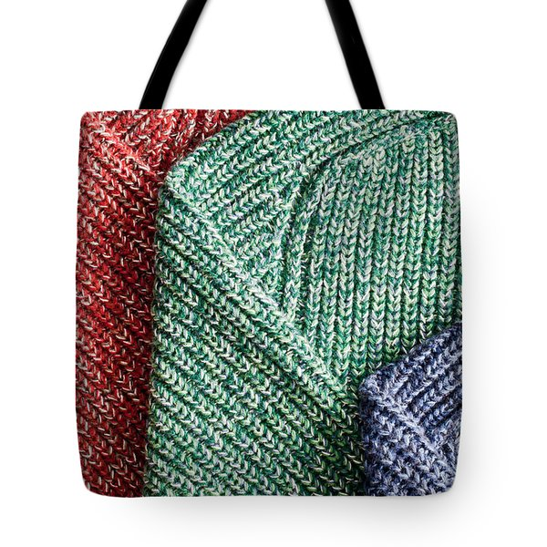 Wool Jumpers Tote Bag by Tom Gowanlock