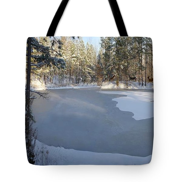 Yeshua Is Coming Tote Bag by Bill Stephens
