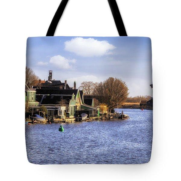 Zaanse Schans Tote Bag by Joana Kruse