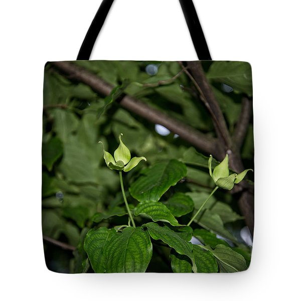 Forest Hill Gardens In Queens Tote Bag by Carol Ailles