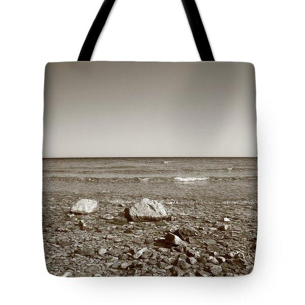Lake Huron Tote Bag by Frank Romeo