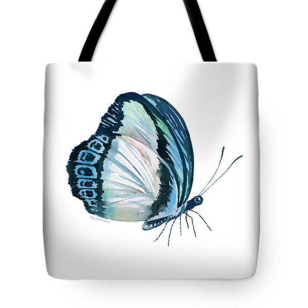 101 Perched Danis Danis Butterfly Tote Bag by Amy Kirkpatrick