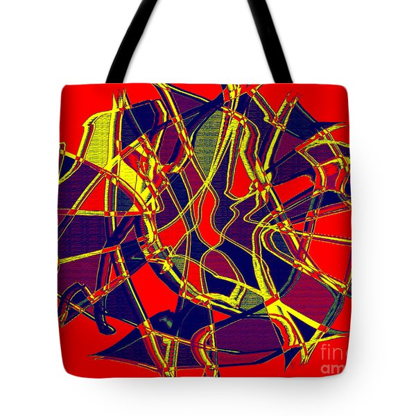 1010 Abstract Thought Tote Bag by Chowdary V Arikatla