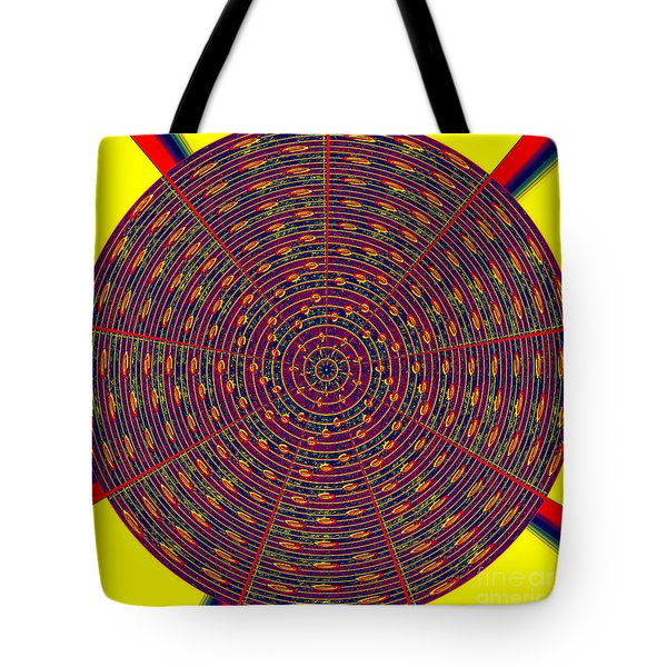 1020 Abstract Thought Tote Bag by Chowdary V Arikatla