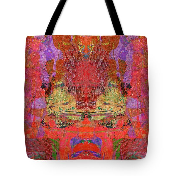 1074 Abstract Thought Tote Bag by Chowdary V Arikatla