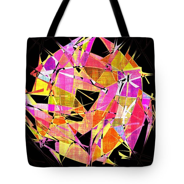 1102 Abstract Thought Tote Bag by Chowdary V Arikatla